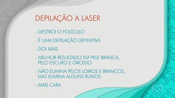 depilação a laser bem estar